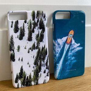 Gray Malik iPhone Cases